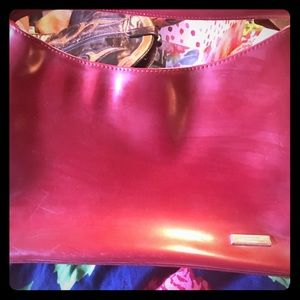 Just a small red purse